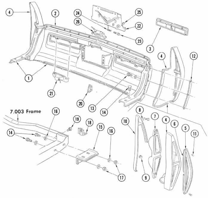 Cadillac Eldorado Wiring Harness