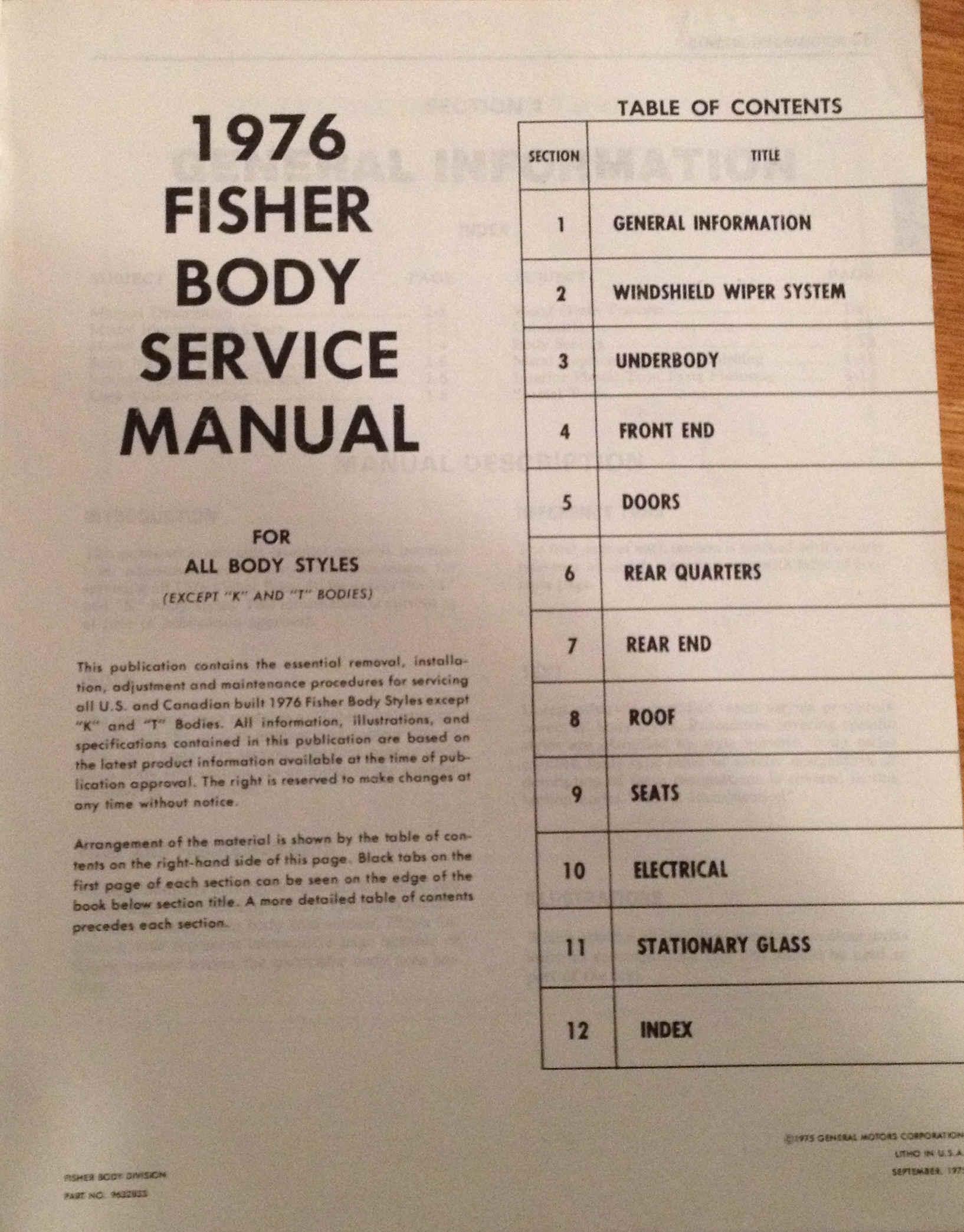 fisher body shop