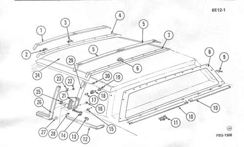 cadillac trunk pull down diagram